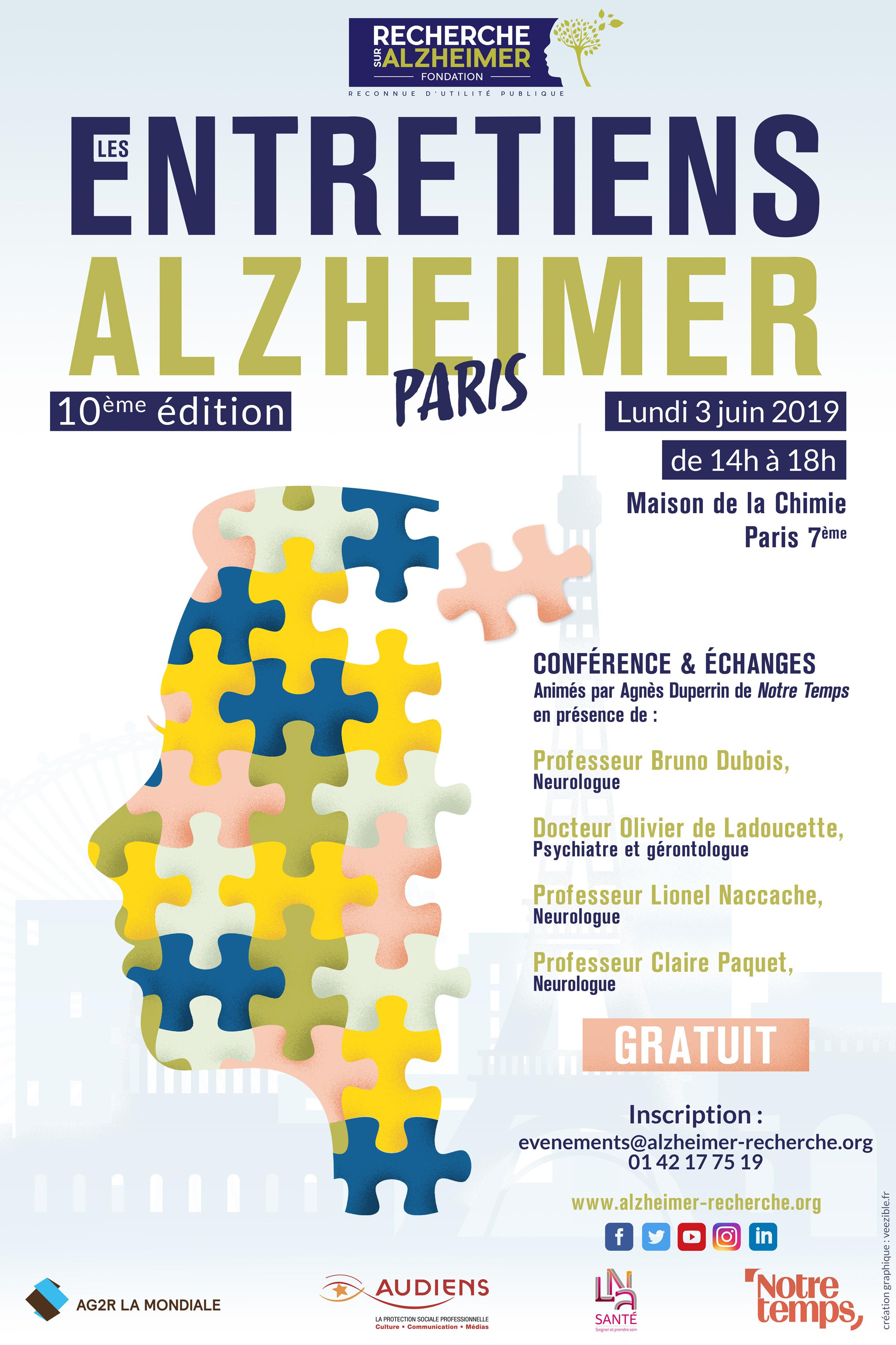 Entretiens Alzheimer 03/06/2019