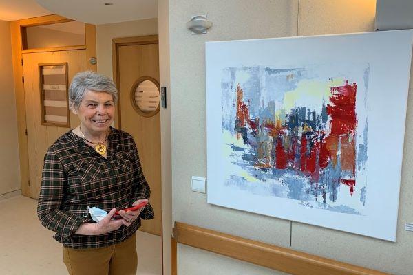 Couleurs et lumière: Claire Bazil expose à la Maison Médicale