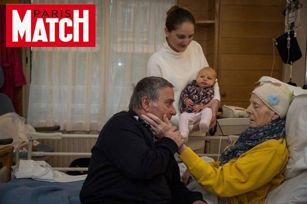 A Jeanne Garnier on accompagne les patients jusqu'au bout de la vie – article publié sur Paris Match