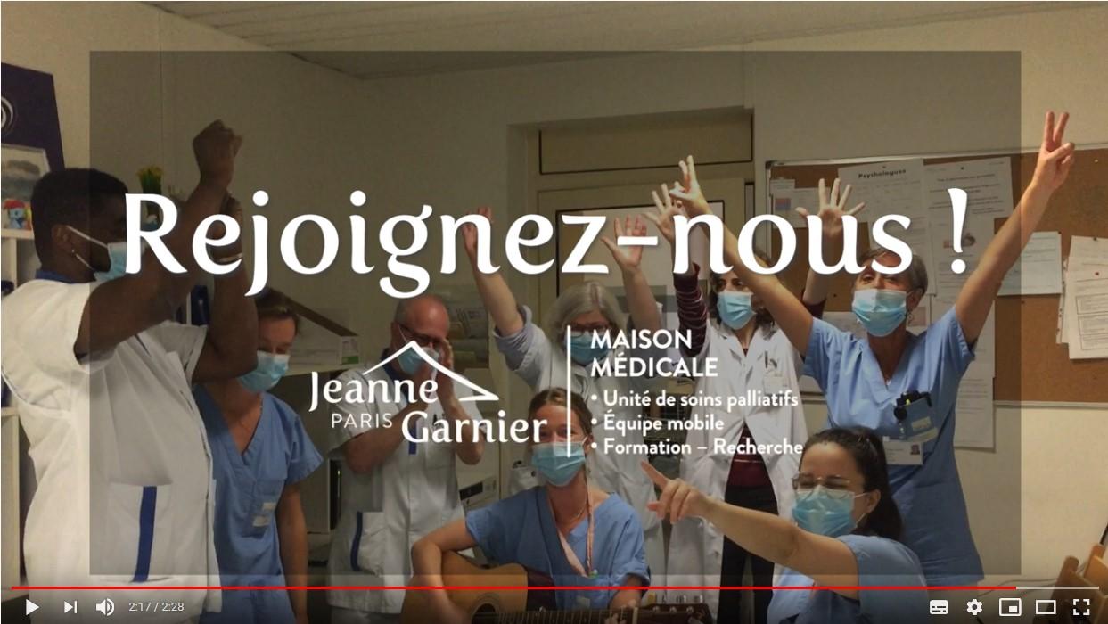 Paroles de soignants: Travailler en soins palliatifs, c'est travailler en équipe.