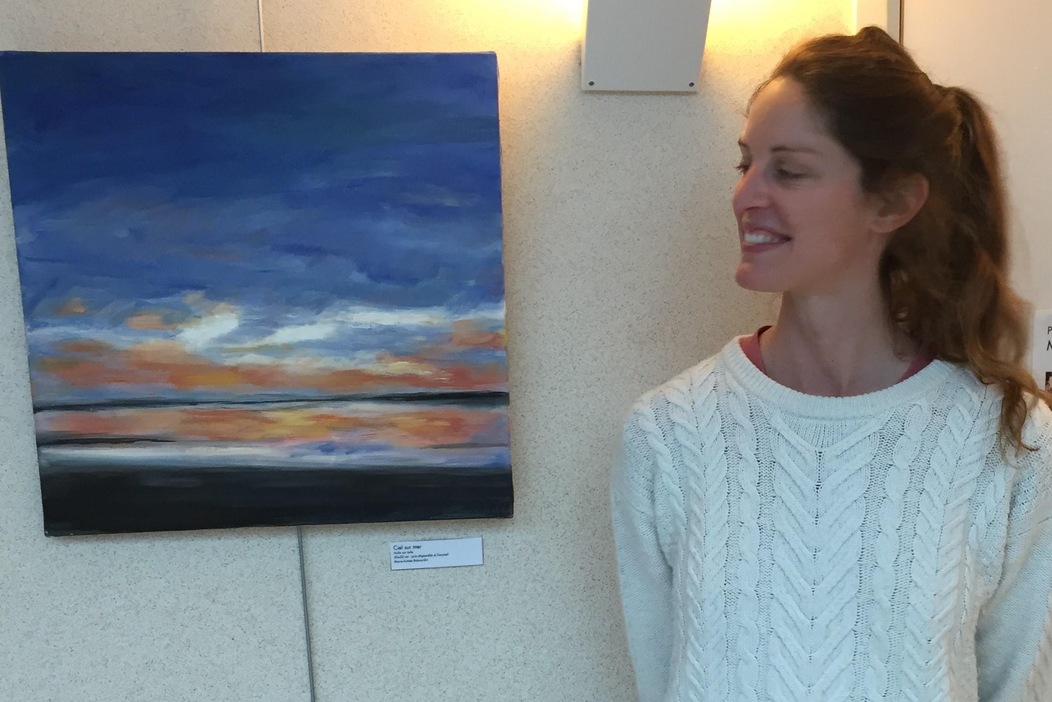 Entre ciel et terre…EXPOSITION de Marie Aimée Rabourdin