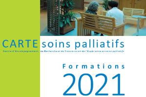 CARTE Soins Palliatifs: Découvrez le programme 2021 de nos Formations