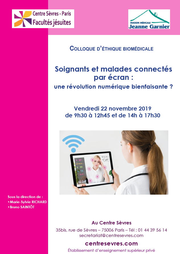 COLLOQUE CENTRE SEVRES 2019- SOIGNATS ET PATIENTS CONNECTES