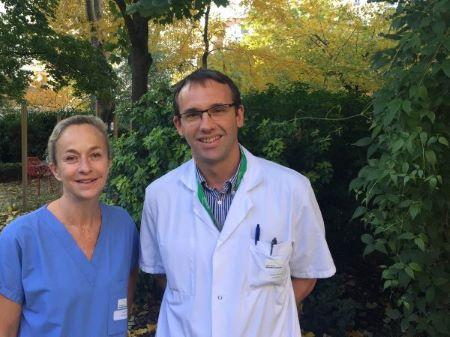 Laurent Taillade et Sophie Robillard, initiateurs du projet Aromathérapie à la Maison Médicale Jeanne Garnier