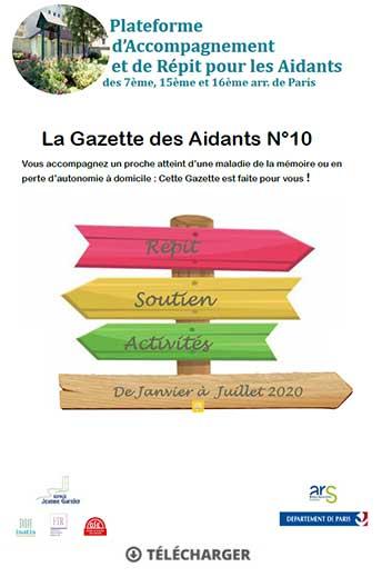 Vignette Gazette des Aidants -10 - 1er trimestre 2020
