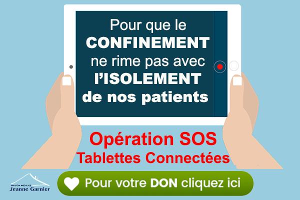 Participez à l'opération SOS TABLETTES CONNECTEES