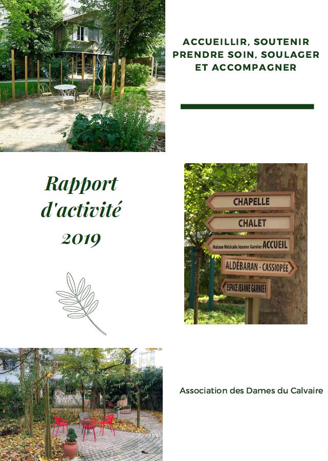 vignette rapport activité Jeanne garnier 2019